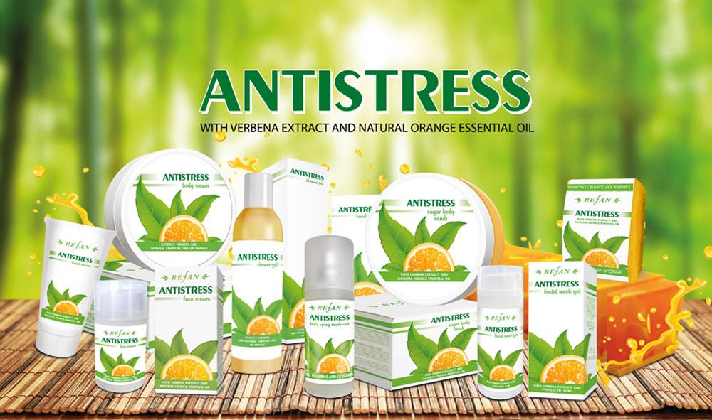 Kosmetikserie Antistress