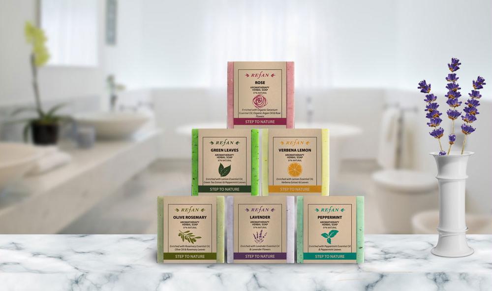 Aromatherapie Kräuter-Seifen