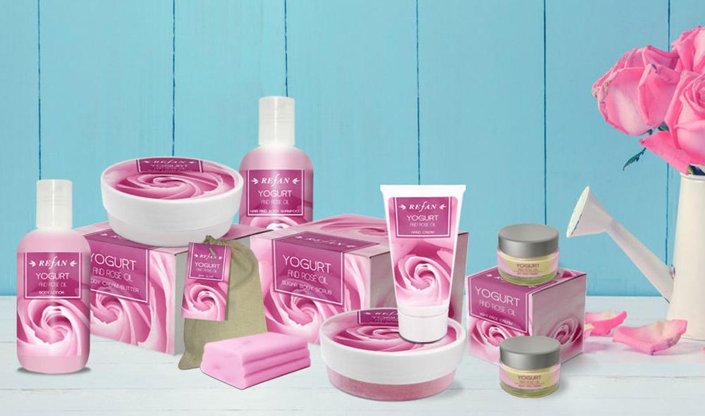 Kosmetikserie Joghurt & Rosenöl