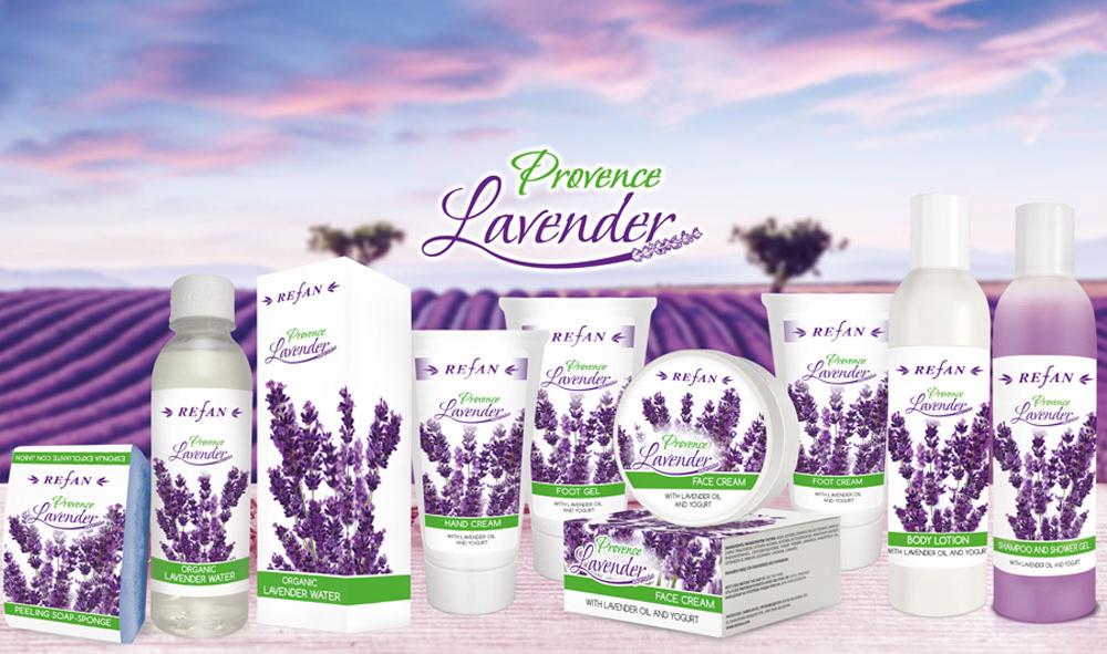 Kosmetikserie Provence Lavendel