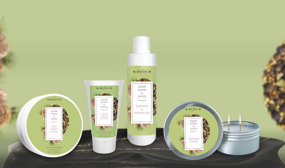 Körperpflegeserie Zedernholz & Gewürze