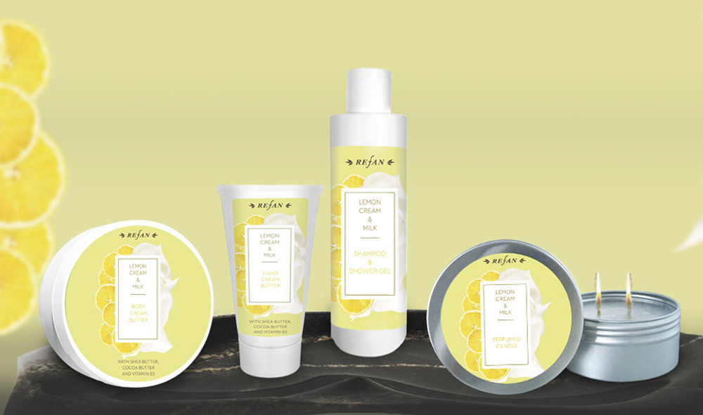 Körperpflegeserie Zitrone & Milchcreme
