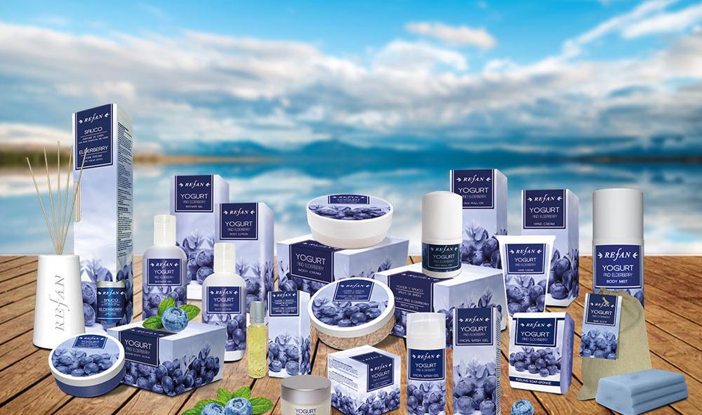 Kosmetikserie Joghurt & Heidelbeeren
