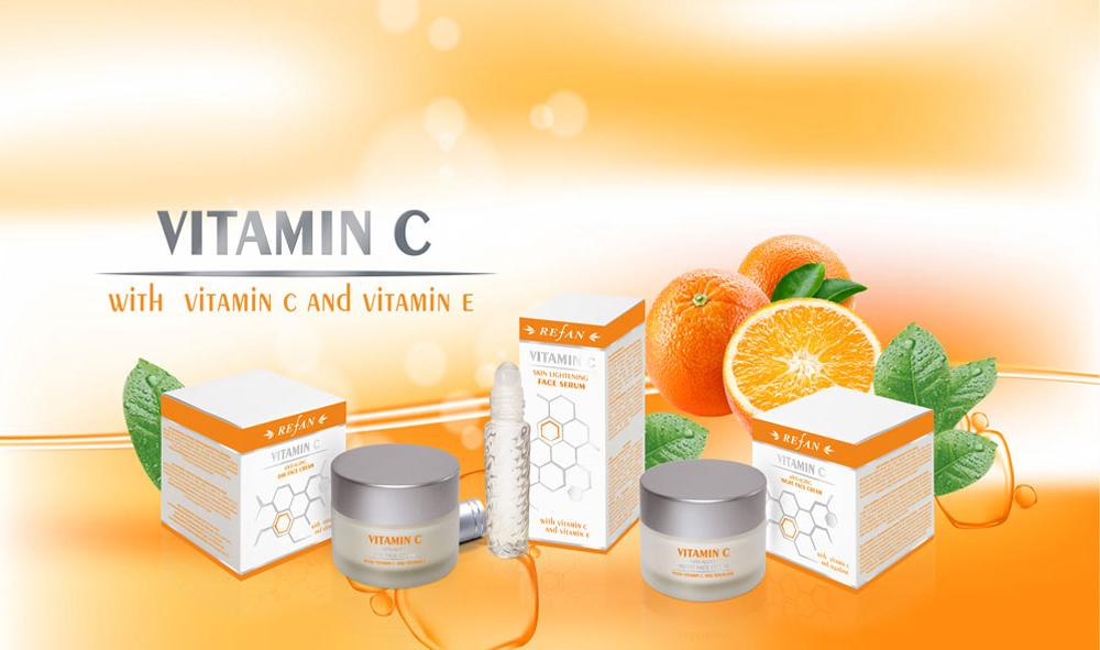 Kosmetikserie Vitamin C